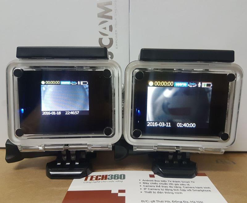 Camera SJ4000 wifi với 2 phiên bản màn hình1.5 inch và 2 inch