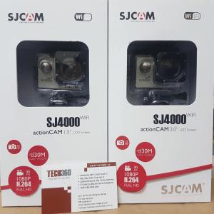 Camera thể thao SJ4000 wifi với 2 phiên bản màn hình1.5 inch và 2 inch