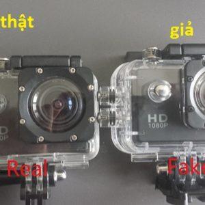 Cách phân biệt Camera thể thao SJCAM chính hãng và hàng nhái