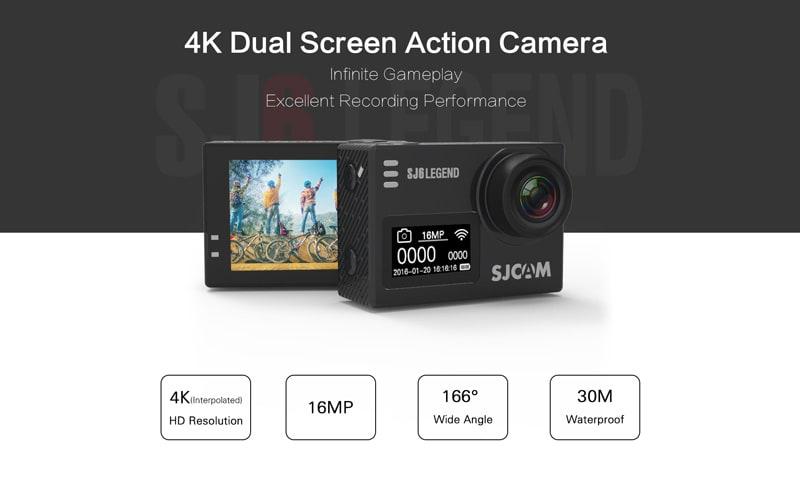 Camera thể thao SJ6 Legend - Sản phẩm đầu tiên của SJCAM sử dụng màn hình cảm ứng