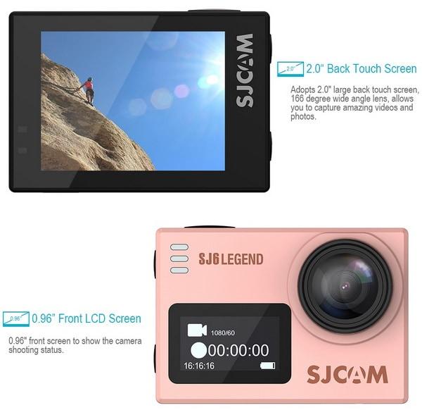Camera thể thao SJCAM SJ6 Lengend có gì khác so với các thế hệ đời trước
