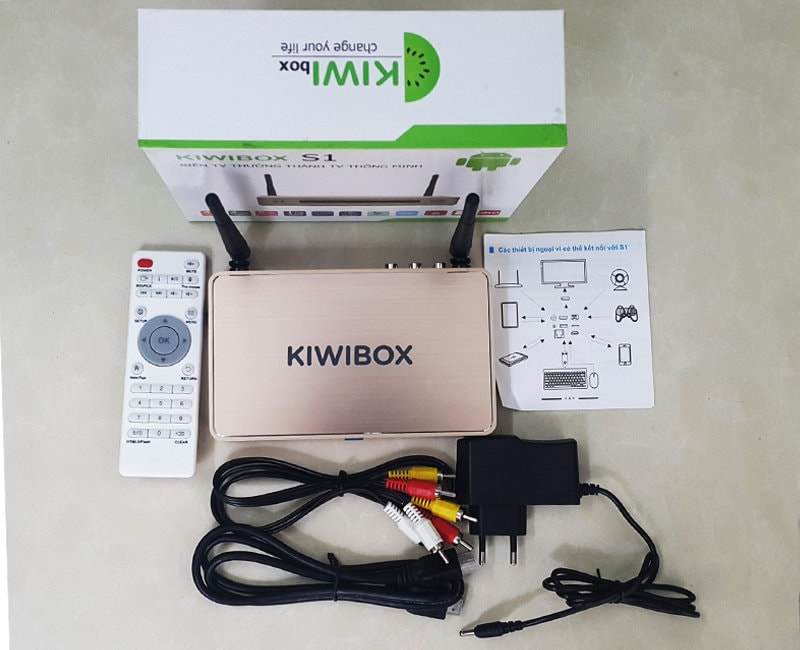 android tv box giá rẻ kiwibox s1
