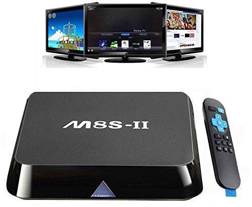 Android TV Box M8S-II AMLogic S905 64bit