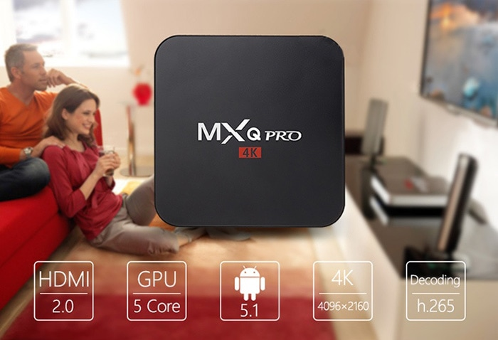 Android TV Box MXQ Pro 4K