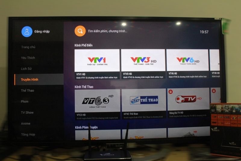 android tv box giá rẻ vinabox x2