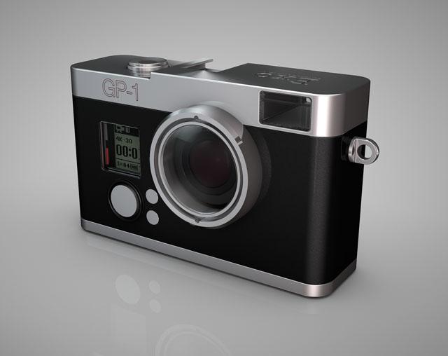 Biến GoPro thành một chiếc máy ảnh cổ điển với bộ vỏ Exo GP-1