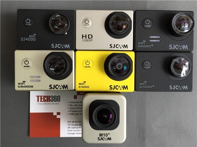 camera thể thao sjcam tại Tech360