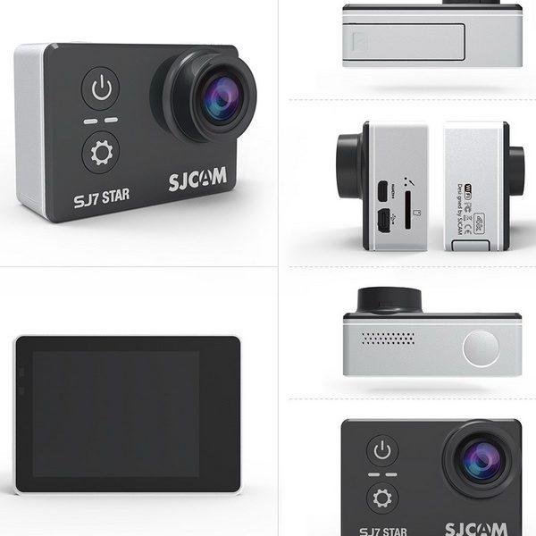 camera thể thao hành trình đi phượt sjcam sj7 star 4k wifi