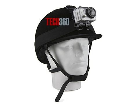 Camera hành trình gắn mũ bảo hiểm