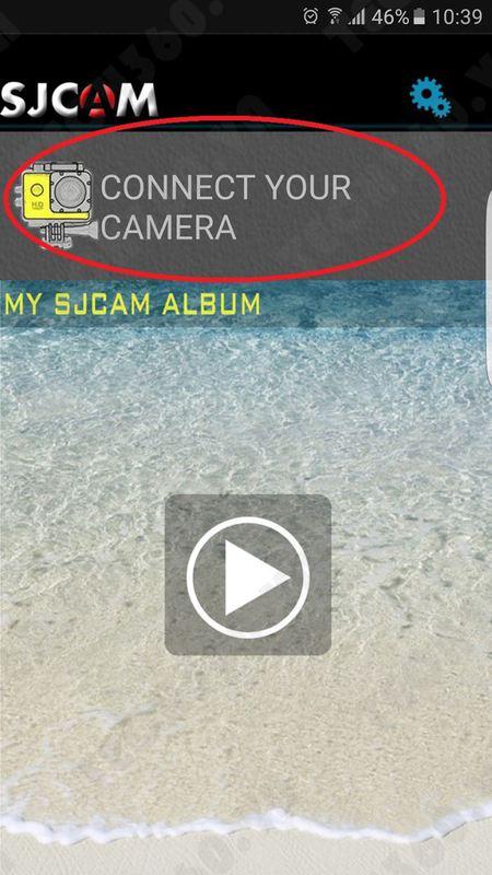 Hướng dẫn kết nối điện thoại với camera thể thao SJCAM