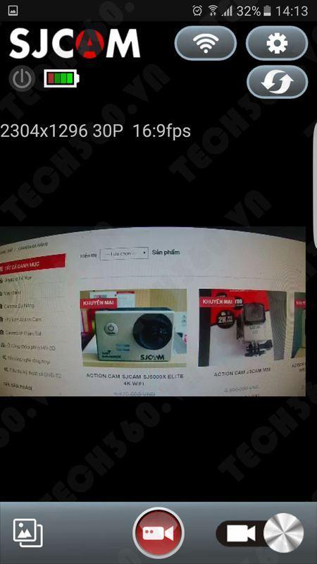 Hướng dẫn kết nối điện thoại với camera thể thao SJCAM 5000+ (Plus) Wifi