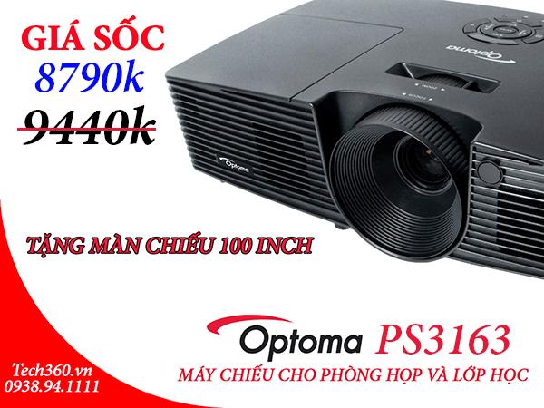 Khuyến mại mùa EURO 2016 cho máy chiếu Optoma PS3163