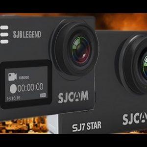 So sánh giữa SJCAM SJ6 Legend và SJ7 Star