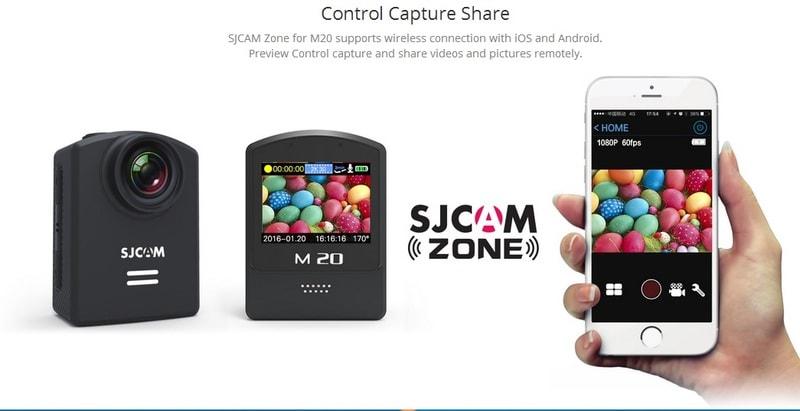 Action cam M20 siêu nhỏ của SJCAM đang tạo nên cơn sốt trong giới trẻ dịp hè 2016