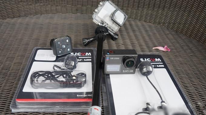 Video review camera thể thao SJCAM SJ6 Legend cùng một số hình ảnh về nó