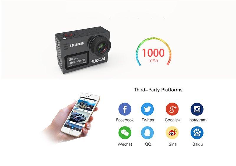 Camera thể thao SJCAM SJ6 Legend 4K WiFi