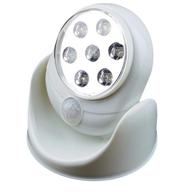 Đèn LED cảm biến xoay 360 độ