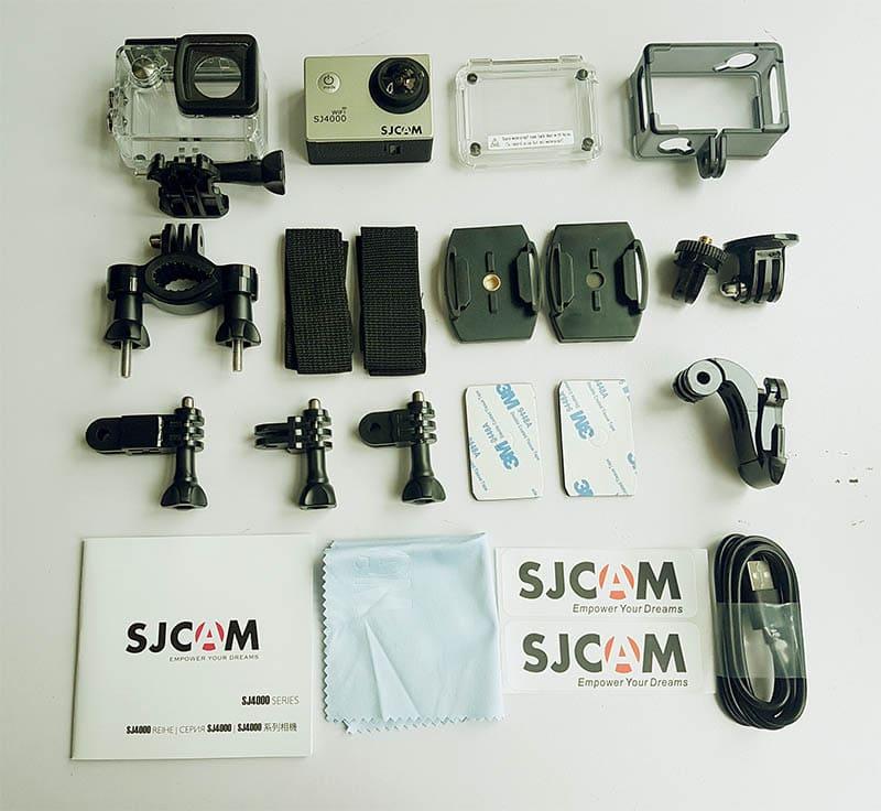 phụ kiện sjcam sj4000 wifi lcd 2 inch