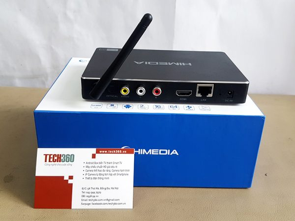 Android TV Box Himedia H8 OctaCore