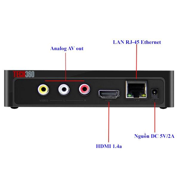 Android TV Box Himedia Q1IV