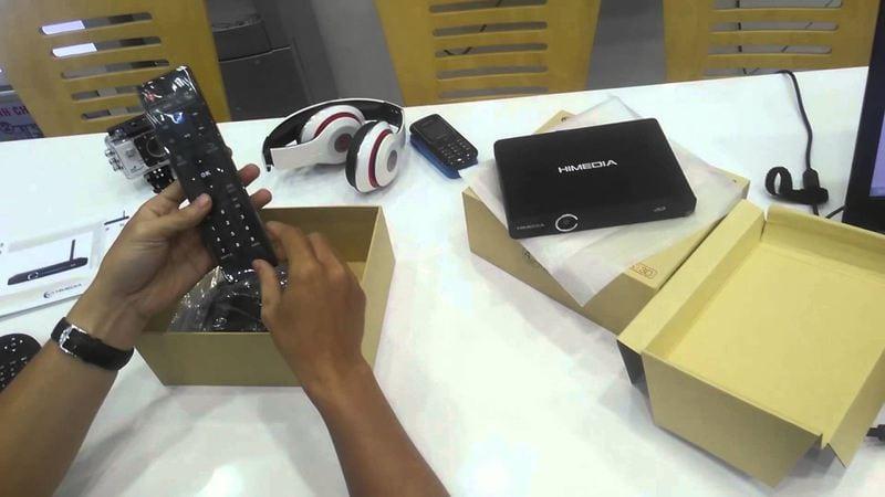 Android TV Box Himedia Q3IV