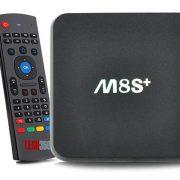 Android TV Box M8S+ (Plus) và Chuột bay KM800