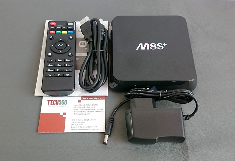 Android TV Box M8S+ (Plus)
