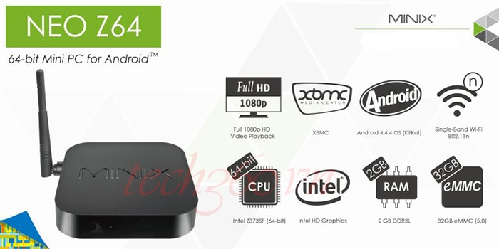 Android TV Box Minix Neo Z64