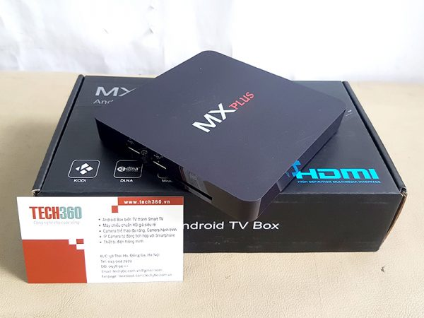 Android TV Box MX PLus AMLogic S905 64bit