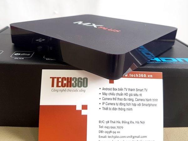Android TV Box MX PLus AMLogic S905 64bit