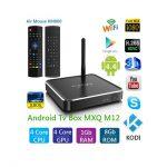 Android TV Box MXQ M12 + chuột bay KM800