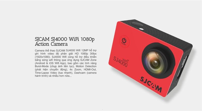 Camera thể thao đa năng SJCAM SJ4000 WiFi