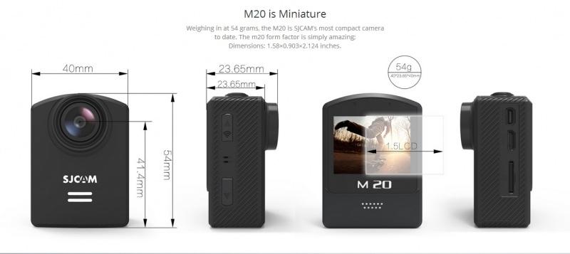 Camera thể thao đa năng SJCAM M20