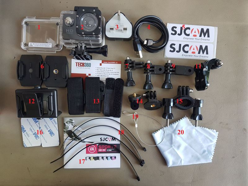 Canera thể thao ACTION CAM SJ4000