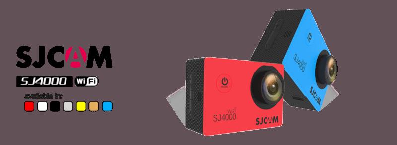 Máy ảnh hoạt động SJ4000 wifi LCD 2 inch