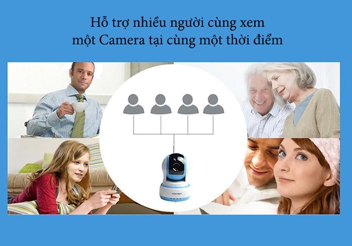 IP CAMERA BÁO ĐỘNG CHỐNG TRỘM ESCAM QF521 HD WIFI
