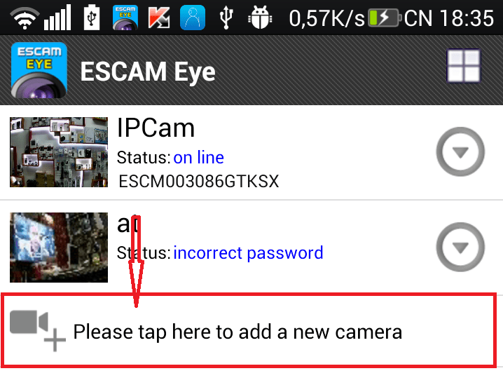 IP CAMERA GIÁM SÁT AN NINH ESCAM QF100 HD WIFI
