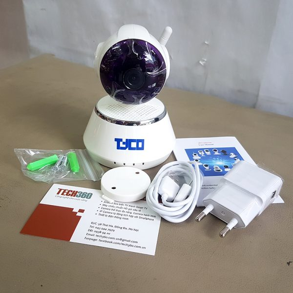 IP CAMERA TYCO SECURE DOG QF510 HD WIFI