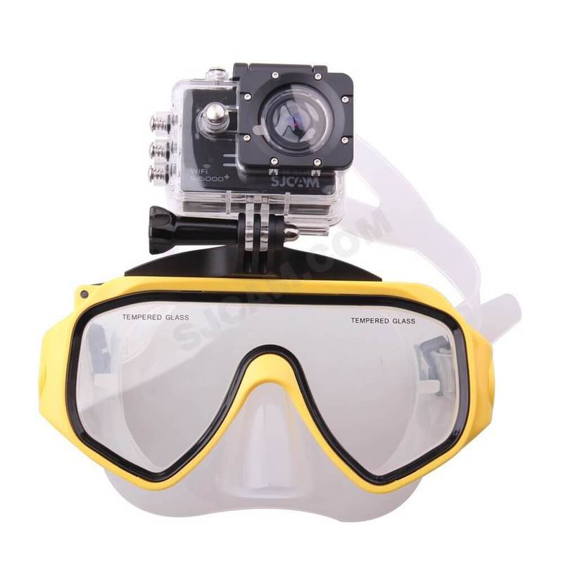 kính lặn sjcam và gopro
