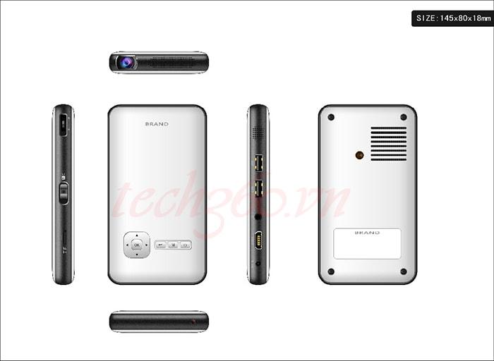 máy chiếu mini android thông minh cloudnet M6