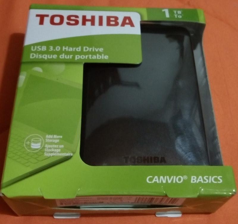 Ổ cứng di động Toshiba 1TB USB 3.0 Canvio