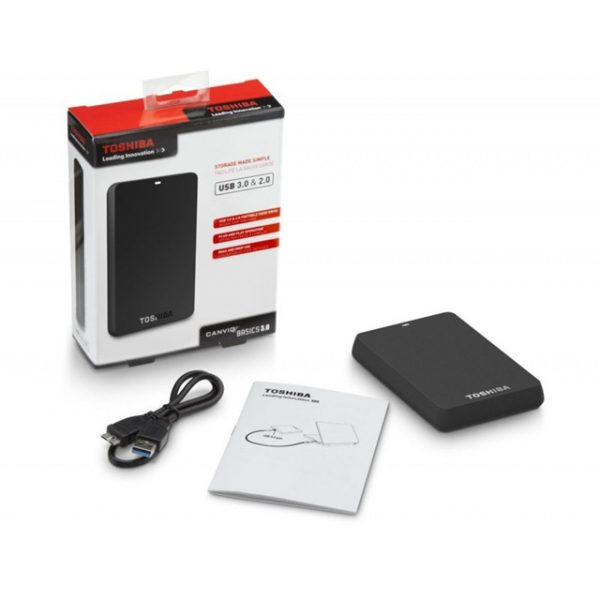 Ổ cứng di động Toshiba 2TB USB 3.0 canvio