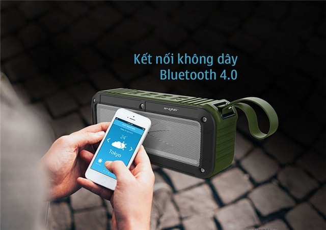 Loa mini bluetooth chống nước W-King S20
