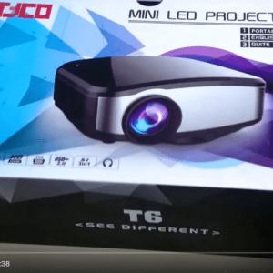 máy chiếu giá rẻ mini Tyco T6
