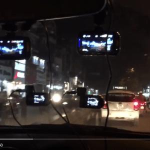 Camera hành trình buổi tối