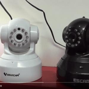 Cùng xem Ip camera QF100 nhảy với Vstarcam