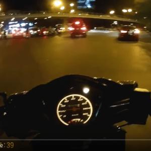 SJ4000+ wifi buổi tối trên đường phố Hà Nội