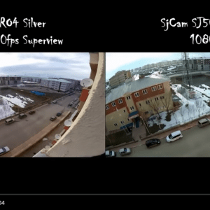 SJ5000 Plus Wifi VS GoPro HERO4 Silver