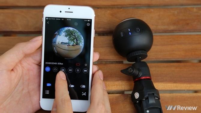 Quay video 360 độ, trải nghiệm VR với action camera SJCAM SJ360