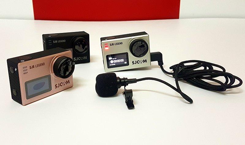 Microphone cho SJCAM SJ6 Legend, Sj7 Star